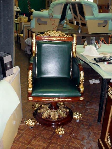 Реставрация музейной мебели