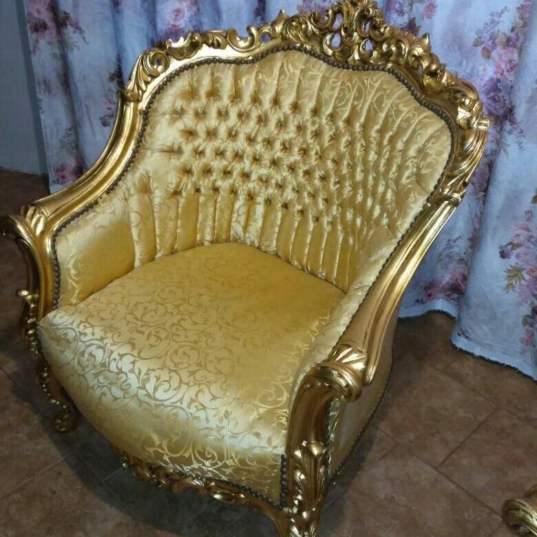 Реставрация позолоты на мебели