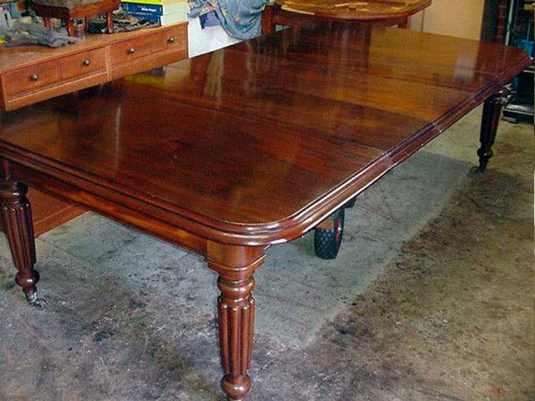Реставрация дубовой мебели